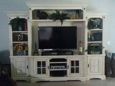 Shabby Chic Entertainment Center by Imagine How Your Home Tv Watching Experience Would Transform With