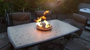 gas fire pit table kit tabletop gas fire pit fire pit ideas