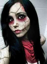 Voodoo Doll Halloween Costume Halloween Coming Terrifying Makeup Ideas