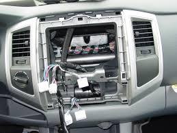 2005 2011 toyota tacoma double cab car audio profile