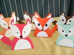foxy crafts for the thanksgiving table