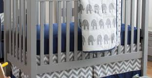 Navy Blue And White Crib Bedding by Arresting Art Mabur Wondrous Curious Important Wondrous Curious