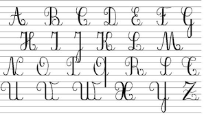 how to write i in cursive cursive letters a z educationcom new american cursive handwriting