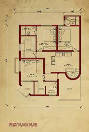 house floor plan by 360 design estate u2013 7 5 marla house