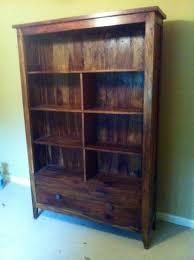 wts bookshelf large wooden bookshelves with drawer