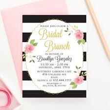 bridal shower invitations brunch bridal shower archives modern pink paper