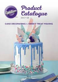 cake decorating wilton product catalogue 2017 18 by clare issuu