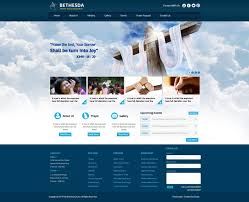 design home page online christian church website design home page layout website