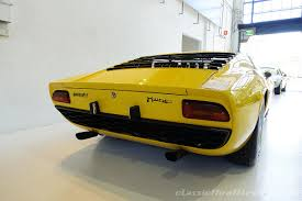 classic lamborghini 1968 lamborghini miura p400 classic throttle shop