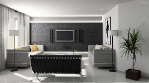 interior furniture white background in home theater room wallpaper