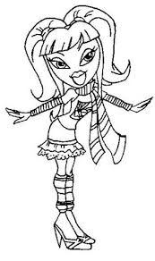 amazing coloring pages bratz coloring pages