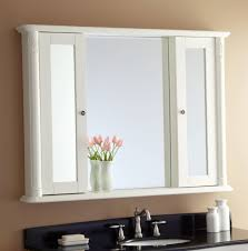 bathroom storage mirrored cabinet mirror design ideas flower pot plant white bathroom mirror cabinet