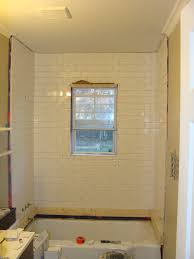 Windows In Bathroom Showers Bathroom Overhaul Chapter 2 Tiling The Shower