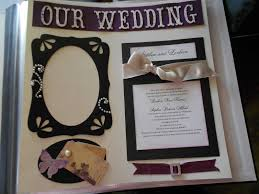 our wedding scrapbook kathies kreations wedding scrapbook pages i made for a friend