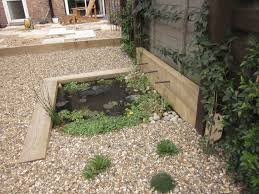 tranquil earth building gardens with railway sleepers garden