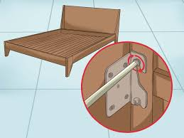 Bed Frame Legs For Hardwood Floors How To Fix A Squeaking Bed Frame Wikihow