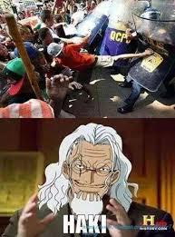 Meme One Piece - haki one piece know your meme