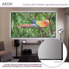 amazon com elite screens aeon 135 inch 16 9 ambient and ceiling