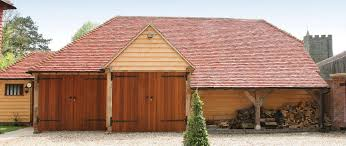 oak framed garage specialists oak designs co 2 bay bespoke garage workshop