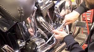delboy u0027s garage harley softail service 1 gearbox oil change