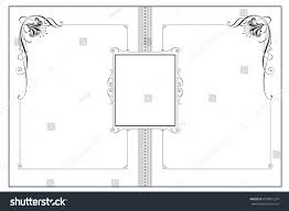 vector template advertisements flyer web wedding stock vector