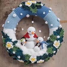 best 25 crochet wreath ideas on crochet ornaments