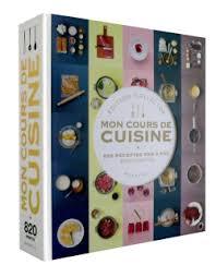 livre cours de cuisine mon cours de cuisine collector top chefs food