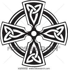 clipart of celtic cross k5293032 search clip illustration