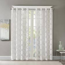 Christmas Lights Behind Sheer Curtain 84 Inches Grommet Sheer Curtains Shop The Best Deals For Nov