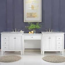 bathroom sink cabinets with marble top 103 inch carrara marble top bathroom double sink cabinet vanity