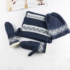 online get cheap hat scarf gloves set men aliexpress com
