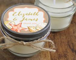 candle wedding favors set of 12 4 oz soy candle wedding favors wedding favor