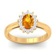 citrine engagement rings citrine oval yellow gold engagement rings ebay