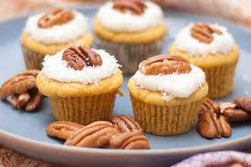 hodgson mill recipe blog gluten free carrot cake mini cupcakes