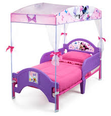 Mickey And Minnie Bed Set by Delta Children Toddler U0027s Minnie Mouse Canopy Bed Sears