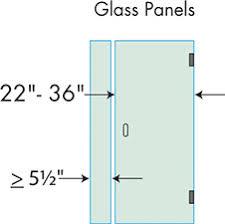 Shower Door Width Shower Construction Guide Dulles Glass