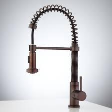 delta venetian bronze kitchen faucet delta saxony faucet