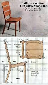 Woodworking Plans Office Chair by 25 Best Wooden Chair Plans Ideas On Pinterest Wooden Garden
