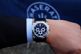 maserati rolex bulgari and maserati in perfect harmony watchonista