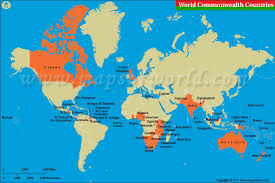 map of the countries commonwealth countries map list of commonwealth countries