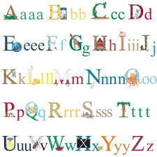 alphabet decals ebay alphabet 73 big wall decals abc school kids letters room decor stickers border