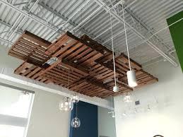 pallet wall6jpg pallet wood ceiling ideas wood pallet drop ceiling