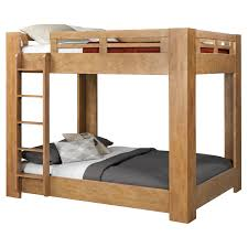 Twin Bunk Bed Designs by American Woodcrafters Natural Elements Twin Over Twin Bunk Bed