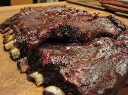 smoked venison ribs