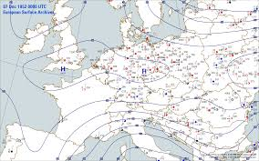 Utc Map European Surface Archives Weather Graphics