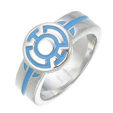 green lantern wedding ring blue lantern engagement ring silver jewelry