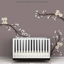 Wall Decals Baby Nursery Wall Decals Modern Baby Room Tree Wall Sticker