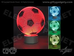 3d effect football lamp giftygadgety com