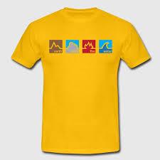 earth wind fire water t shirt spreadshirt