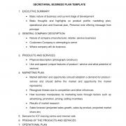 basic outlines basic business plan format sle essay for high students